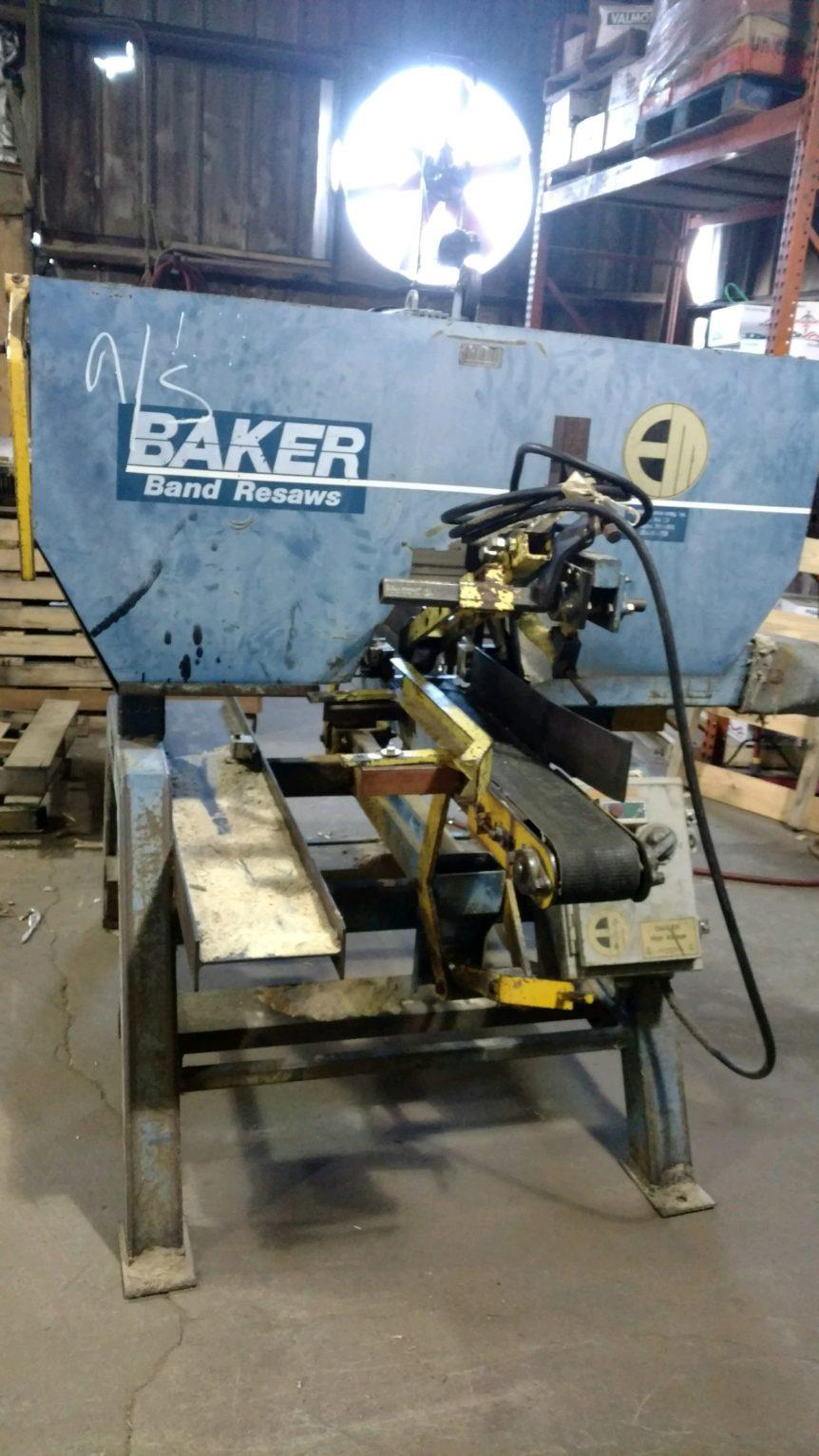 Baker Resaw Infeed #2407