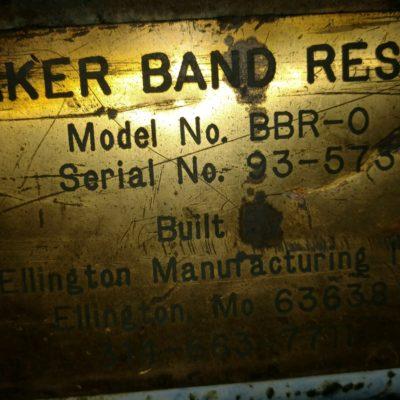 Baker Resaw Face Plate #2407