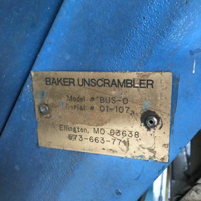 Baker DH Notcher Face Plate #2425