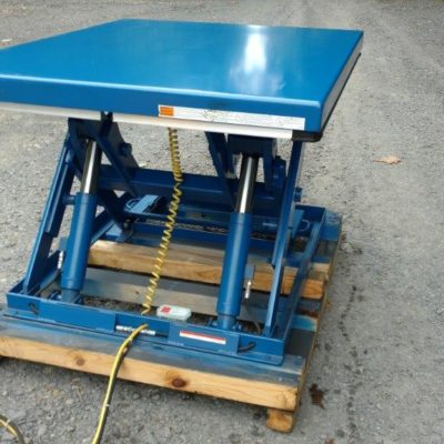 Vestil Electric Hydraulic Unit Lift #2454 4