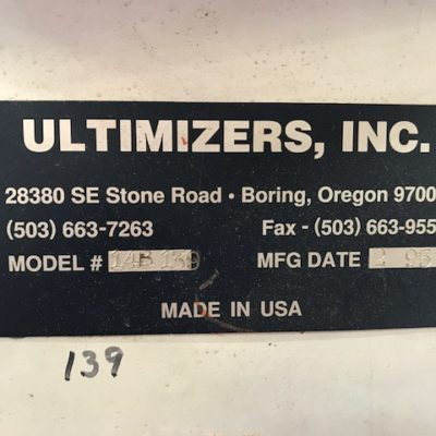 Ultimizer Saw Face Plate #2467