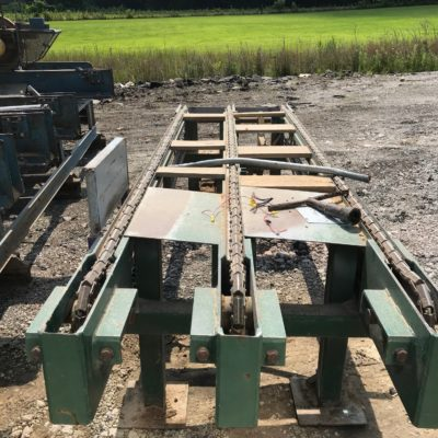Infeed Deck Green Chain #2470