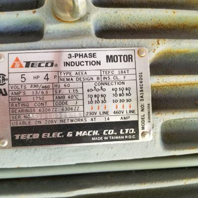 6 HD Trim Saw Motor Plate #2474