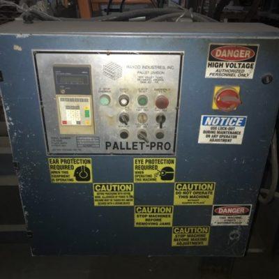 Rayco Pallet Nailer Controls #2483
