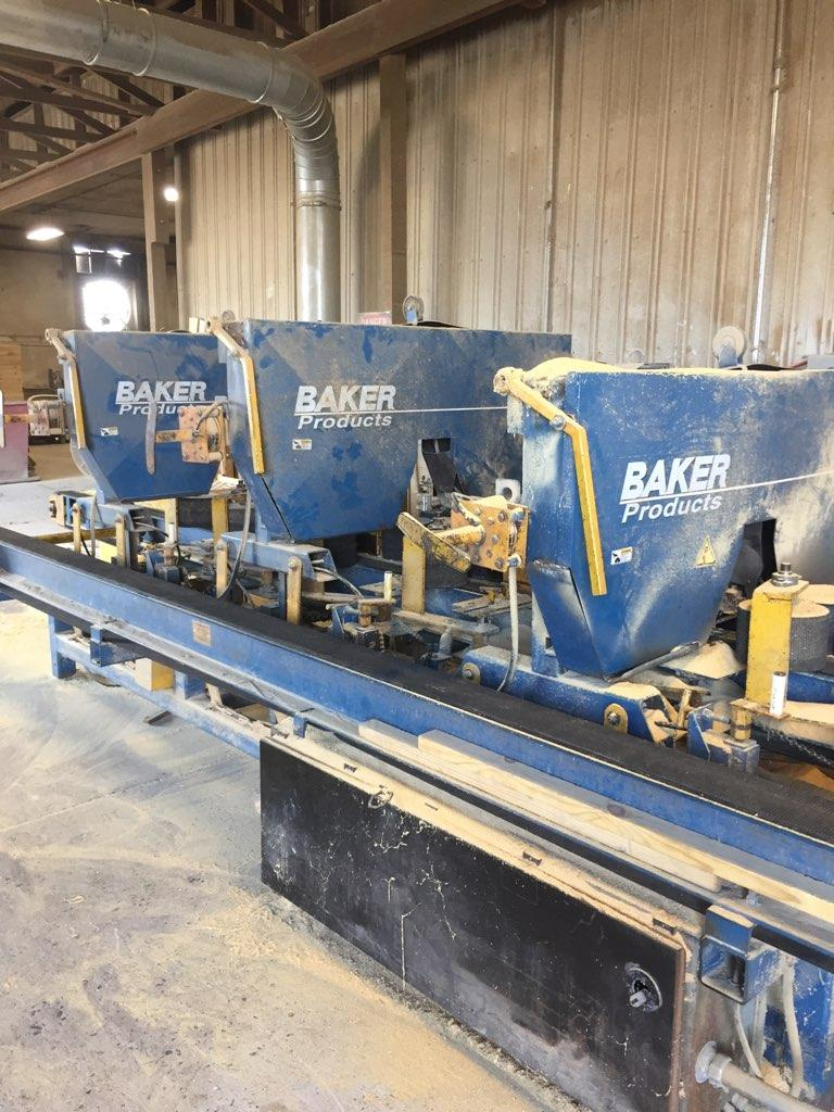 Baker 3HD Band Saw Side #2493