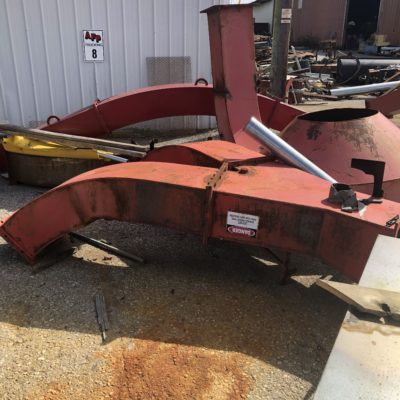 Mobark Grinder Ducting #2509