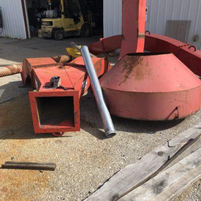 Mobark Grinder Ducting 2 #2509
