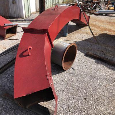 Mobark Grinder Ducting 3 #2509