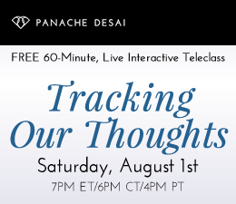 Tracking Our Thoughts - LIVE Interactive Teleclass