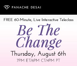 Be The Change - LIVE Interactive Teleclass
