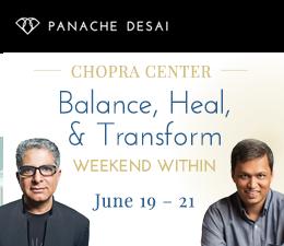 Weekend Within with Deepak Chopra and Panache Desai