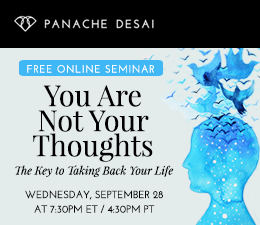 You Are Not Your Thoughts - Free Online Seminar