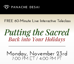 Putting the Sacred Back into Your Holidays
