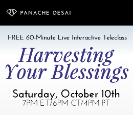 Harvesting Your Blessings - Live Teleclass