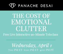 The Cost of Emotional Clutter - Free Teleclass