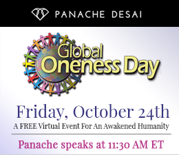 Global Oneness Day with Panache Desai