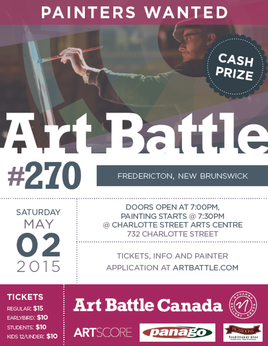ART BATTLE FREDERICTON