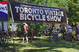 TORONTO VINTAGE BICYCLE SHOW