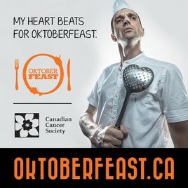 OktoberFEAST FOR CANADIAN CANCER SOCIETY