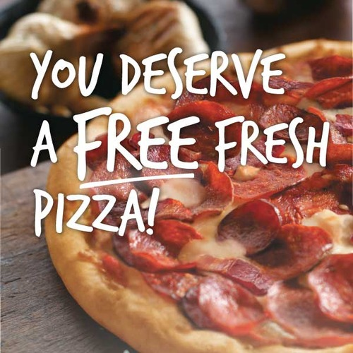 WHITBY FREE PIZZA DAY