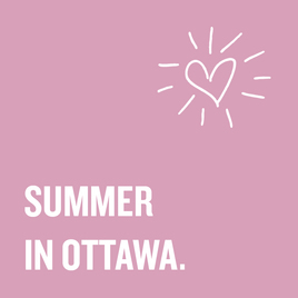 SUMMER IN OTTAWA