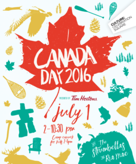 CANADA DAY PIZZA PARTY