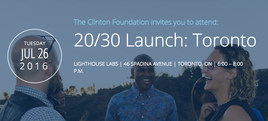 CLINTON FOUNDATION 20/30
