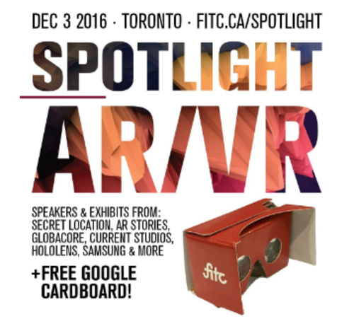 FITC SPOTLIGHT: AR/VR