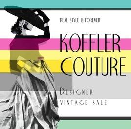 KOFFLER COUTURE DESIGNER VINTAGE SALE