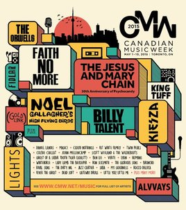 #RANDOMACTSOFPIZZA x CANADIAN MUSIC WEEK