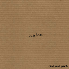 Time and Place – Scarlet artwork