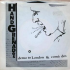 Handgrenades – Demo to London b/w Coma Dos 45 artwork