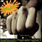 bugXpunch and XsaladcrusherX – Splat! artwork