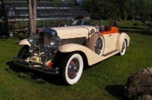 1934 Duesenberg J134 - SJ Boattail