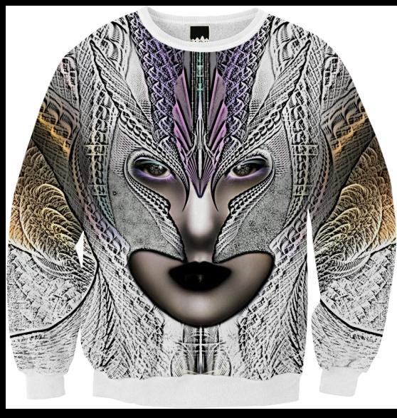Taidushan Sai Faux Painting Zm Ribbed Sweatshirt