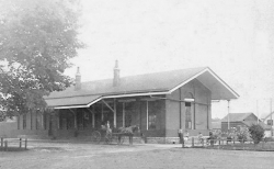 Glendale Historic Depot Postcard cropped