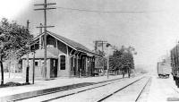 Wyoming Historic Train station