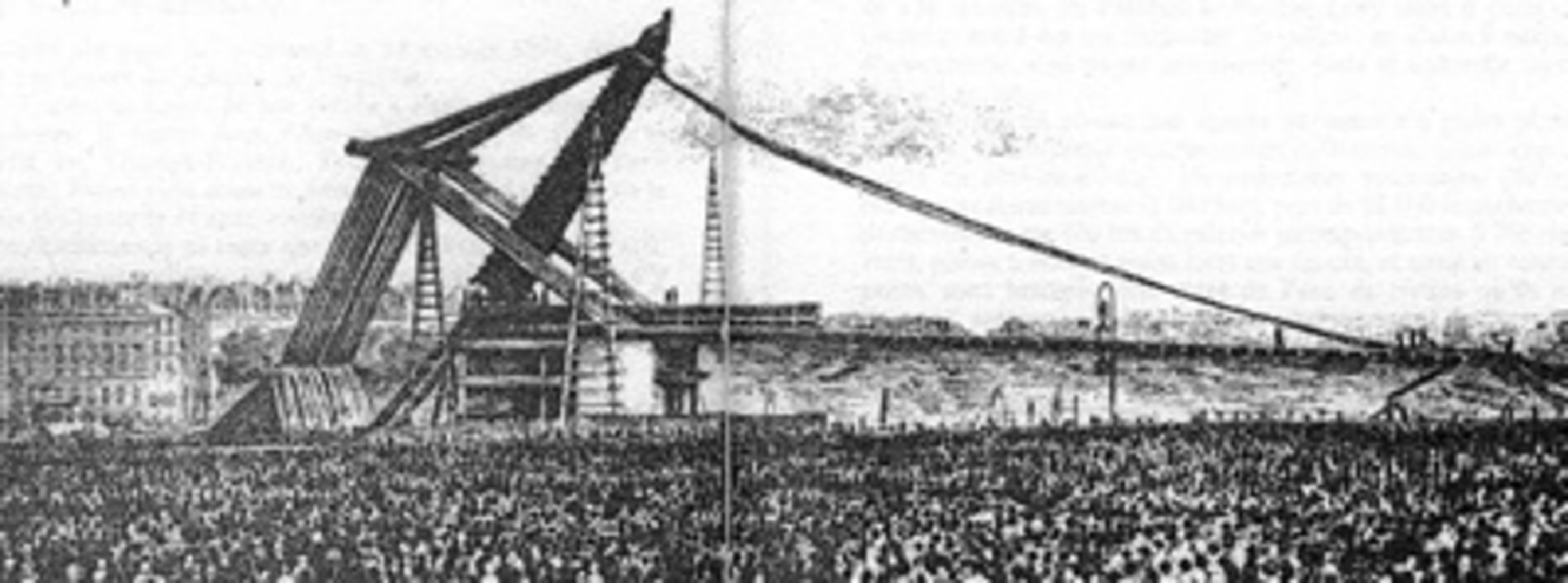 Erection obelisque concorde 1836