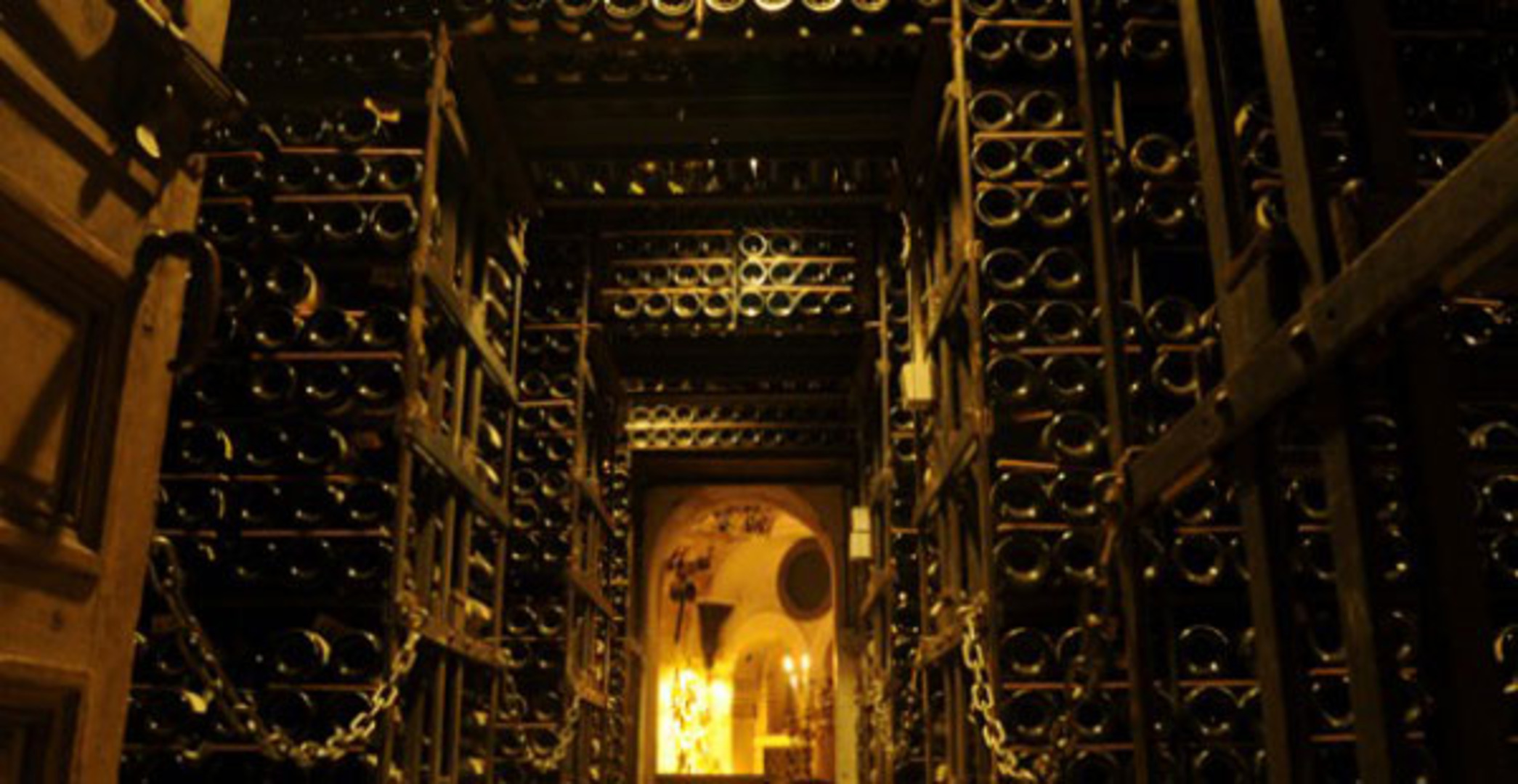 Cellars of la tour dargent 1