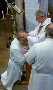 29th June 2013  Johns' Ordination by Bishop Dominic at St Woolos Newport Cathedral
