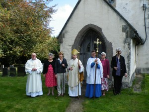 wardens and crucifer with john and Bishop Richard