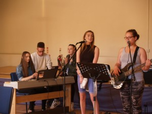 Youth of the Church holding the 10.45 Cafe Service