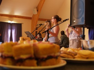 Cake and songs.