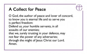 Collect for peace