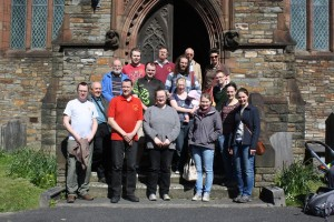 Welsh Colleges Society of Change Ringers - Llanelli Parish Church 080417
