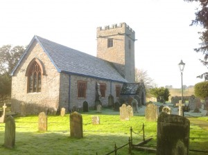 The Church viewed from the lych gate