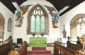 Llanhamlach Church - chancel original