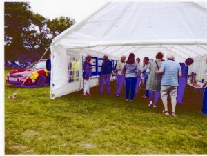 Community Marquee at Fete