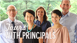 Image: Upcoming Tours with Principals Event: Dec 7