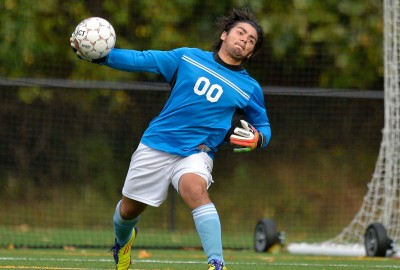 Featured News: Boys' Varsity Soccer Tops Gerstell on a Goal in the Final Minute